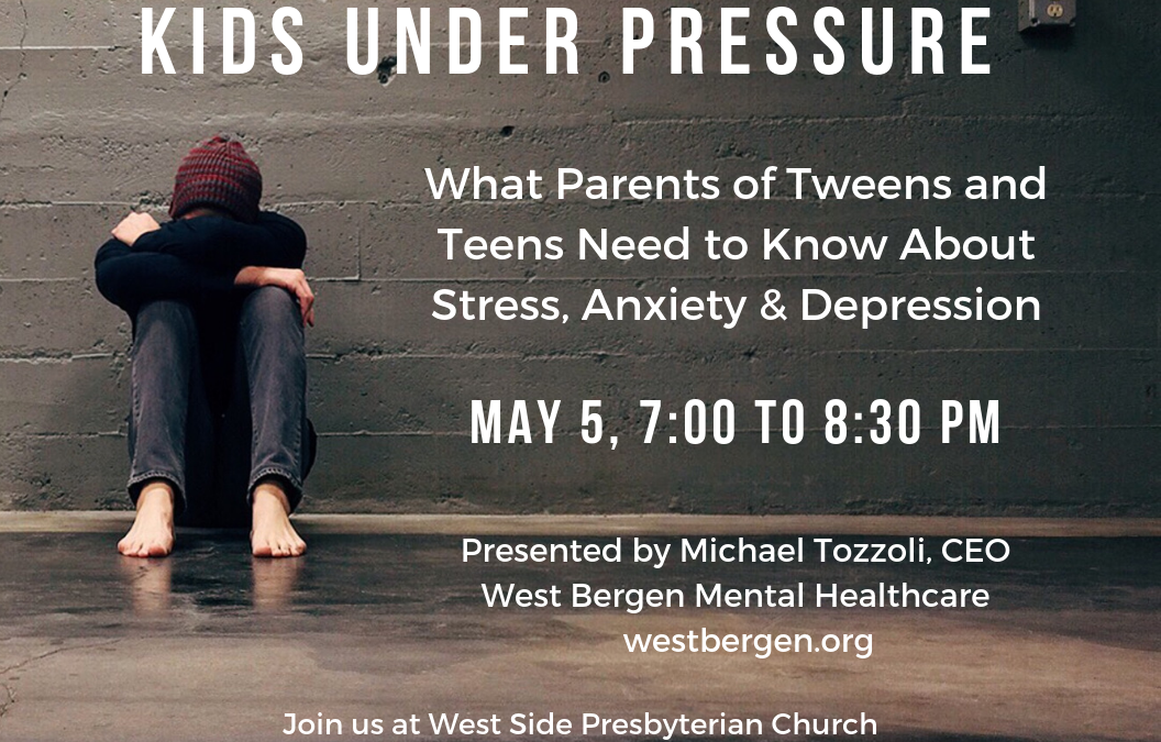 Kids Under Pressure – Scroll Down for Link to Presentation Slides